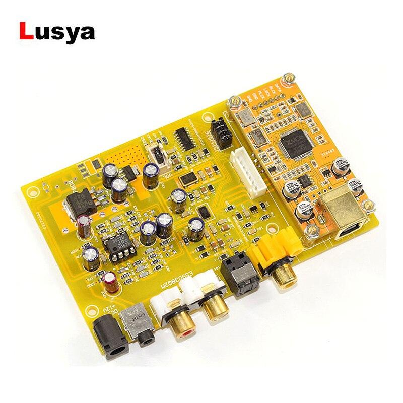 RüCksichtsvoll Triple Schalter Dac Decoder Board Es9038 Q2m Dc 12 V Unterstützung Fiber Coaxial Usb Eingang Hifi Audio Verstärker Bord Weniger Teuer Unterhaltungselektronik Digital-analog-wandler