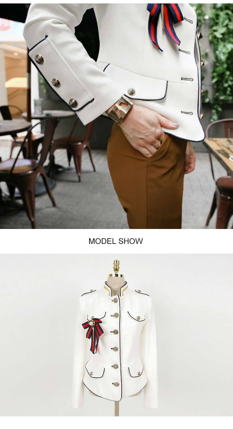 2019 spring new arrival fresh high quality coat women fashion comfortable vintage elegant holiday solid cute work style jacket