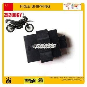 Коробка zongshen ac CDI ZS200GY, аксессуары для мотоциклов и мотоциклов, 200 куб. См, 8 контактов, бесплатная доставка