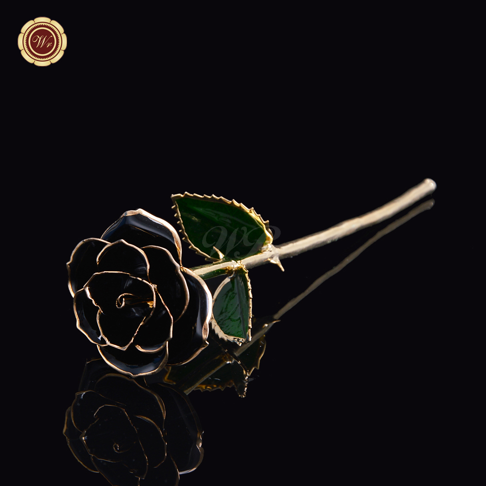 Aliexpress Com Buy Wr Romantic Rose 24k Gold Dipped