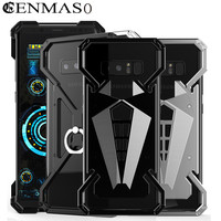 Cenmaso Case for Samsung Galaxy Note8 Aviation Aluminum Case for Samsung Note 8 Metal Case Shockproof Bumper Mobile Phone Cover