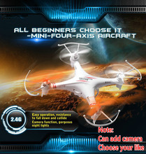 Free Shipping RC DRONE M62 M62R 2.4G 4CH 6-Axis rc helicopter Toys Ar. Drone With HD Camera Quadcopter VS X5C h8d