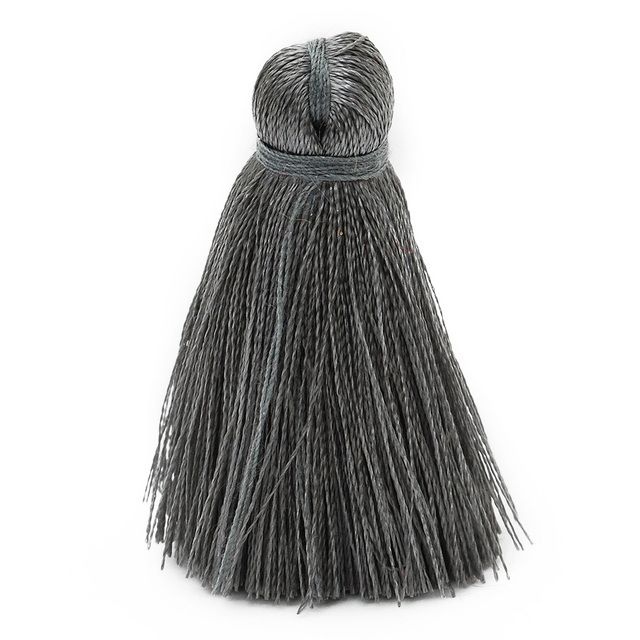 Solid Color Artificial Silk Tassels,40 mm Length Rayon Tassel for ...