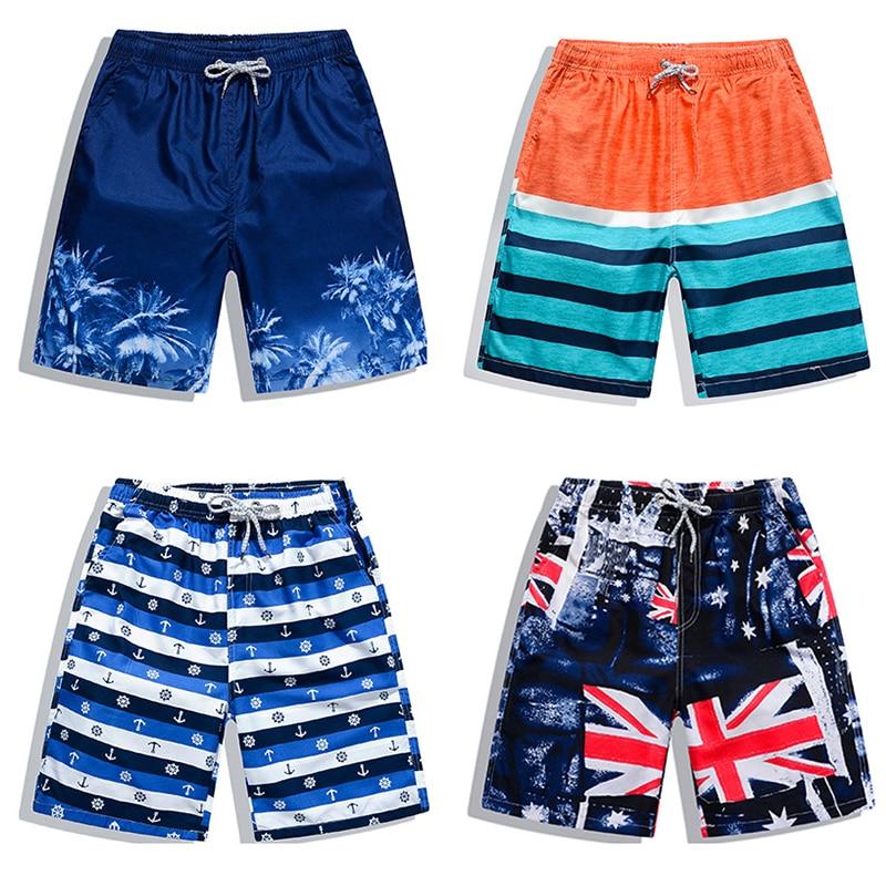 New Beach Shorts Men Women Printed Couple Swimwear Quick Dry Elastic Swim Trunks Surf Summer Swimming Briefs Men Casual Shorts 3