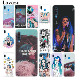 Lavaza Halsey Colors Lyrics Badlands Hard Phone Case for Samsung Galaxy A70 A60 A50 A40 A30 A20 A10 M10 M20 M30 M40 A20e Cover(China)