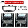 Автомобильный dvd-плеер рамка для Lexus IS300 2006 2007 2008 2009 2010 2011 2012 Авто радио мультимедиа NAVI fascia