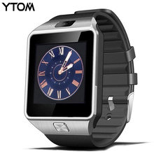 YTOM DZ09 Bluetooth Smart Watch Smartwatch Digital Men Watch 2G GSM SIM TF Card Camera for iPhone Samsung HUAWEI Xiaomi Android(China)