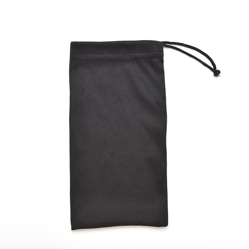 cf8525e524bb 1 Pcs Black Durable Sunglasses Bag Microfiber Dust Storage 17*8.5cm Pouch  Glasses Carry Bag Portable Eyewear Accessories