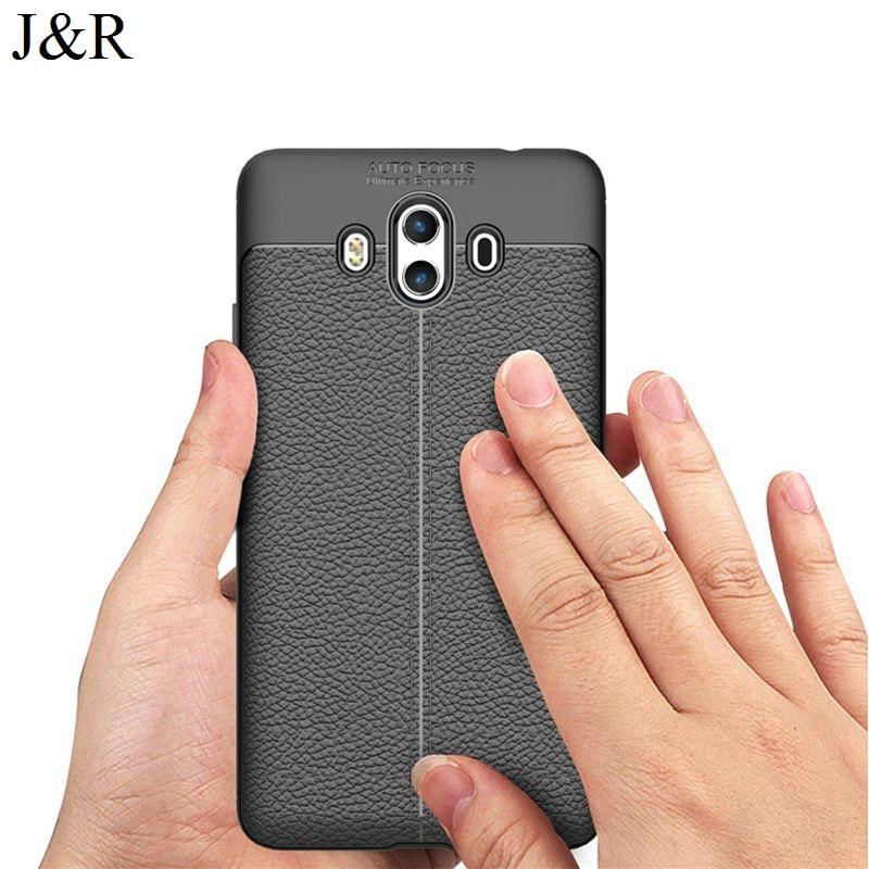 J & R чехол для Huawei Коврики 10 Встроенная крышка Коврики 10 alp-l09 5.9 защитный Телефонные Чехлы Мягкие TPU В виде ракушки ультра тонкая кожа модные
