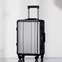 Rolling Luggage 20 Full Aluminum Suitcase maletas de viaje con ruedas envio gratis Travel valise koffer valise bagages roulettes