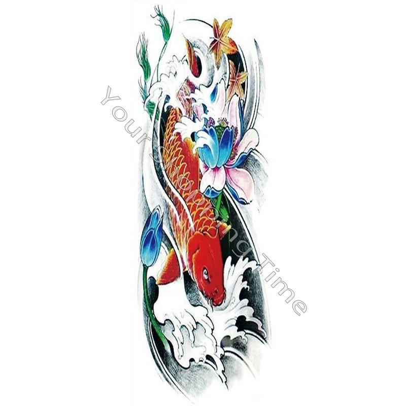 Buy 45 15cm large size koi tattoo for Dragon koi for sale