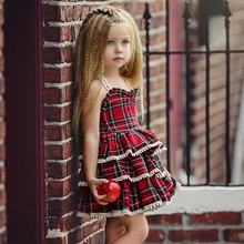 New Summer Baby Girl Dress Fashion Kids Clothes Europe and the American Baby Dresses Girl Princess Dress Children Birthday Dress 2017 europe and the united states summer fashion new children s clothing lattice yarn girl dress cotton children s dress