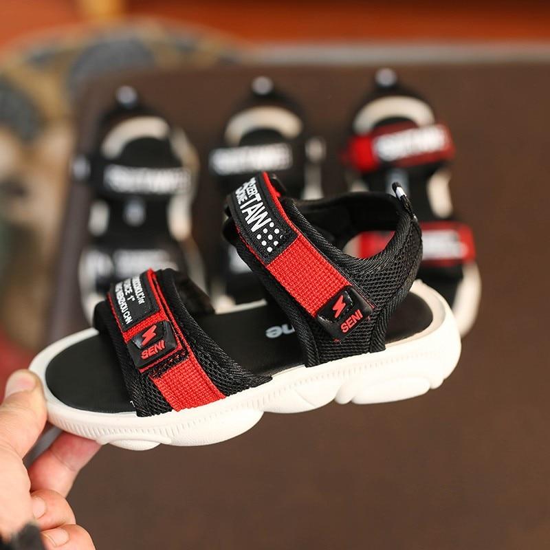 Children's Sandals Men 2019 Summer New Children's Shoes Big Children's Shoes Baby Non Slip Soft Bottom Boys Beach Shoes