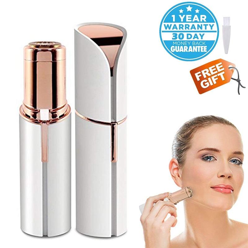 New Electric Painless Lipstick Shape Epilator Shaving Shavers