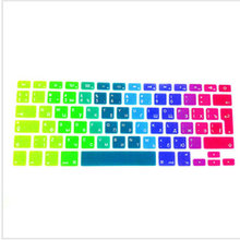Russian UK EU Silicone Keyboard Cover Skin Protector For Apple MacBook Pro Air 13 15 17