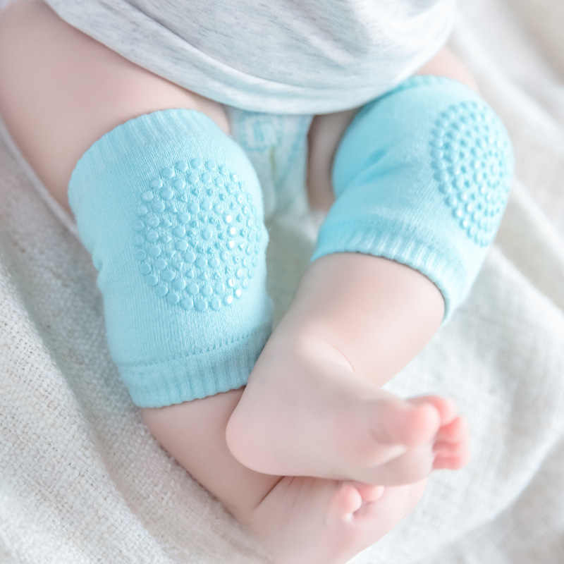 Cute Anti-slip Baby Newborn Knee Pads Crawling Protector Cotton Kids Kneecaps Children Cartoon Baby Leg Warmers Short Socks