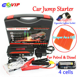 Car Emergency 12V Car Battery Jump Starter Booster Mini Portable Power Bank 600A Peak Current Multi-function Car Jump Starter