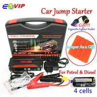 Mini Portable Car Jump Starter Emergency Start 12V Petrol Diesel Engine Multi Function 4 USB Power