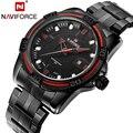 NAVIFORCE Brand Watch Luxury Sports Watches Men Waterproof Steel Quartz Watch Military Wristwatches Clock relogio masculino