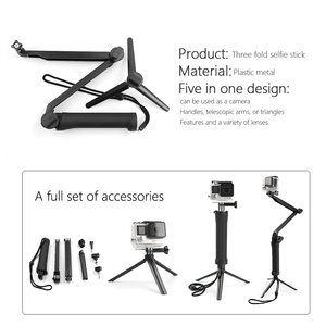 Image 3 - SnowHu For Gopro Hero Accessories Set Mount Strap Monopod For Gopro hero 9 8 7 6 5S 4  for EKEN H9 for xiaomi for yi for 4k GS42