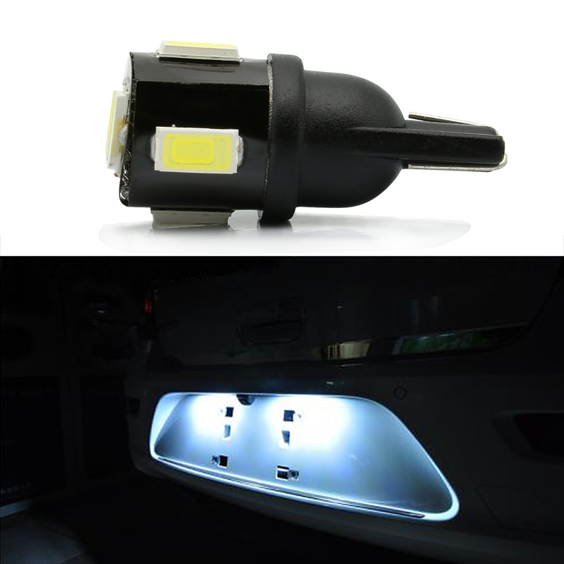 KAHANE 10x T10 LED W5W Car License Plate Lamp DRL Wedge Parking Light FOR VW T5 Golf Passat Touran Polo KIA Ceed Sportage RIO