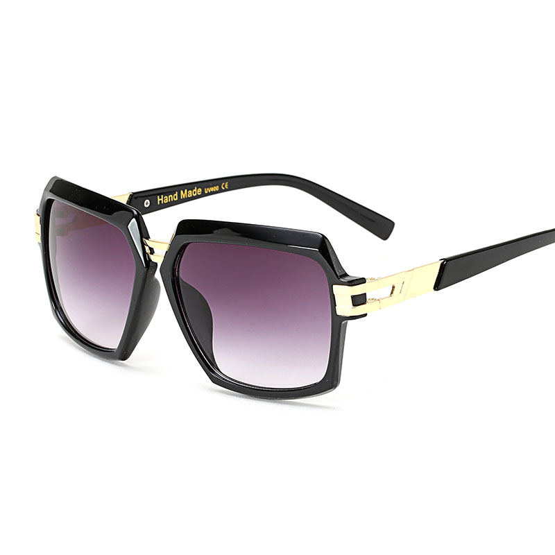 Steampunk Goggles Women men Carter Oversized Sunglasses Female Transparent Oculos Sun Glasses Luxury Brand Driver Eyeglasses