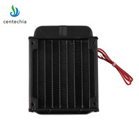 Centechia New Water Cooling 80mm Aluminum Radiator Fan Included Water Cooling Fan For CPU PC Heat