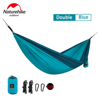 Naturehike 2 person Double Colors Hammock Outdoor Camping Ultralight Flyknit Hamaca Garden Handing Bed Portable Travel Hamac