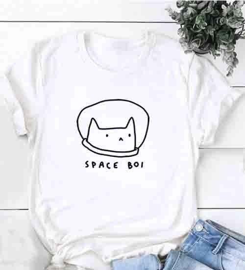 Live Love Meow Cat Kids Children Short Sleeve Tee Top/&Tee