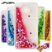 JFWEN For Coque Xiaomi Redmi 4X Case Silicone Soft TPU Clear Transparent Liquid Phone Cases For Xiaomi Redmi 4X Pro Case Cover