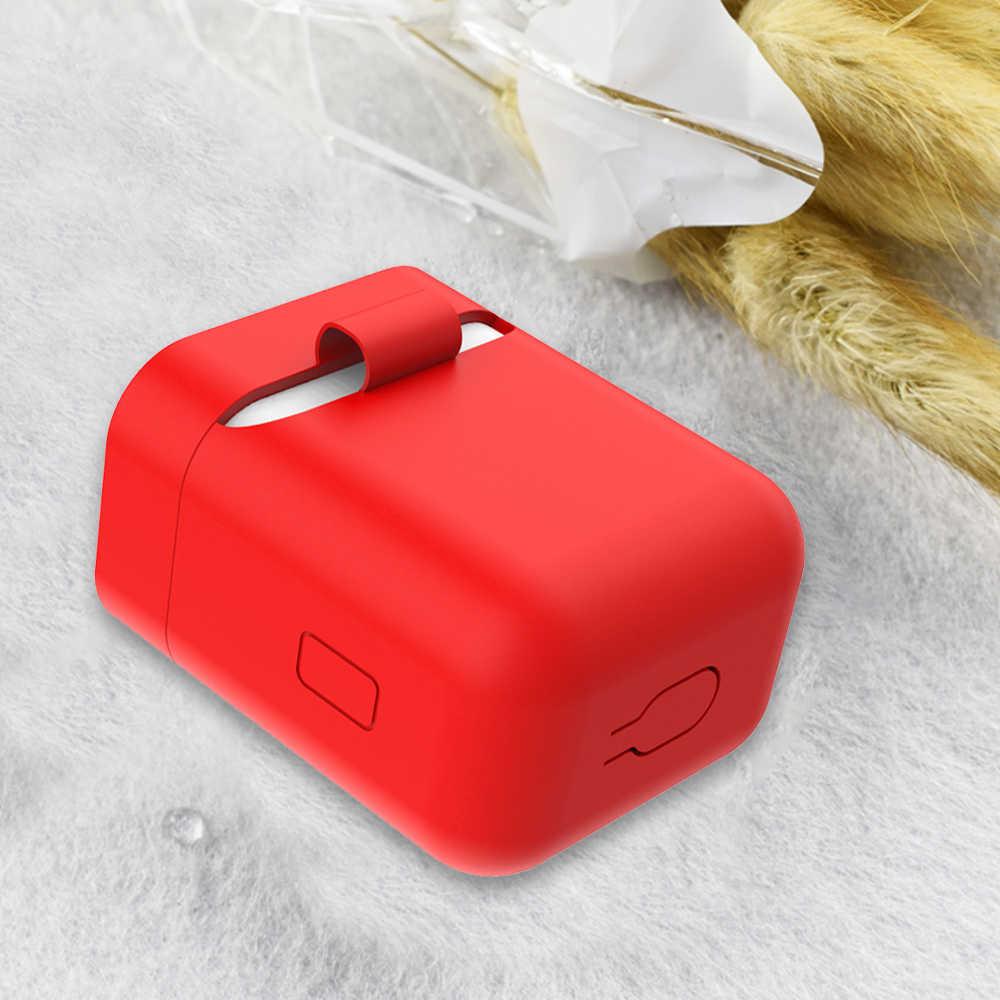 Miękkiego silikonu ochronna obudowa do xiaomi Airdots Bluetooth słuchawki przypadki sterowania słuchawki ładowania pokrywa dla Airdots mi Air TWS