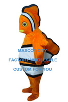 Clown Fish Mascot Costume Hot Sale Adult Size Mascotte Outfit Suit Fancy Dress for Chiristmas Holiday Party SW679