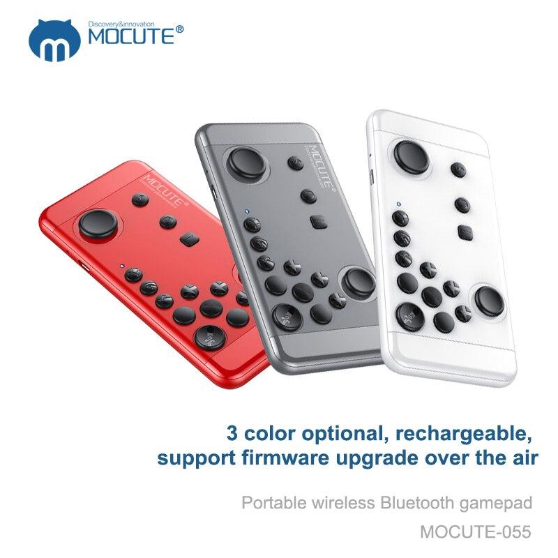 Mocute 055 Портативный <font><b>Bluetooth</b></font> Беспроводной геймпад для ПК игровой контроллер Джойстик для IOS Android <font><b>VR</b></font> смартфонов игры с держателем