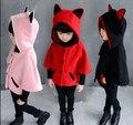 Бесплатная доставка осень наряд хан издание новых детских плащ летучая мышь пальто с толстым слоем