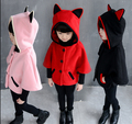 Free shipping Autumn outfit han edition of the new Children's cloak batwing coat coat with thick Coat