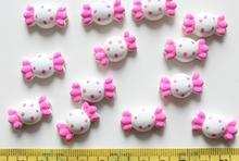 200 шт милые точки разные цвета смешанные обернутые конфеты