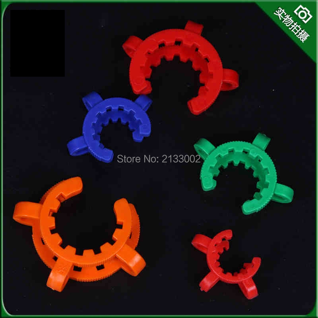 10PCS 24# Laboratory Plastic Clip Lab Keck Clamp Use For Glass Ground Joint