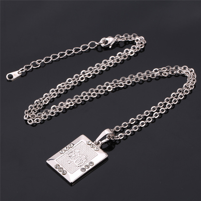 Image 5 - U7 Allah Jewelry Wholesale Gold Color Rhinestone Vintage Style 