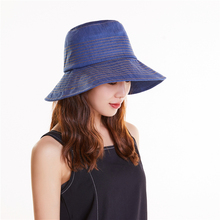 Adult  Women Floppy Hat Womens Summer Caps Beach Cotton Solid Beautiful High Fashion