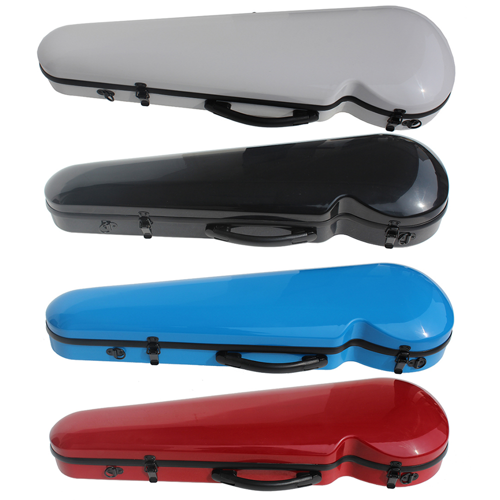 For 4/4 Violin,the Red\Blue\Black\White Violin Case Is Quality Luxury Never Discoloration. The Violin Box Is Very Beautiful!