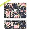 Сдержанной Цветок Защитный Полный обложка Винил Искусство Ноутбук Кожи Этикета Стикер чехол для Apple MacBook Air Pro Retina 11 13 15 дюймовый