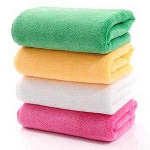 Image 5 - 5/10 pçs 30*70cm microfibra toalha de lavagem de carro absorvente toalhetes multi função toalha de cabelo seco espessamento mais limpeza doméstica atacado
