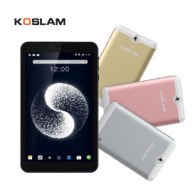 лучшая цена KOSLAM NEW 7'' Android 7.0 MTK Quad Core tablet PC 1GB RAM 8GB ROM Dual SIM Card Slot  AGPS WIFI Bluetooth