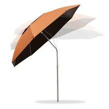 New Fashion Patio Furniture Garden Umbrellas Aluminium Alloy Rod Lightweight Beach Umbrella Sunshade Umbrella