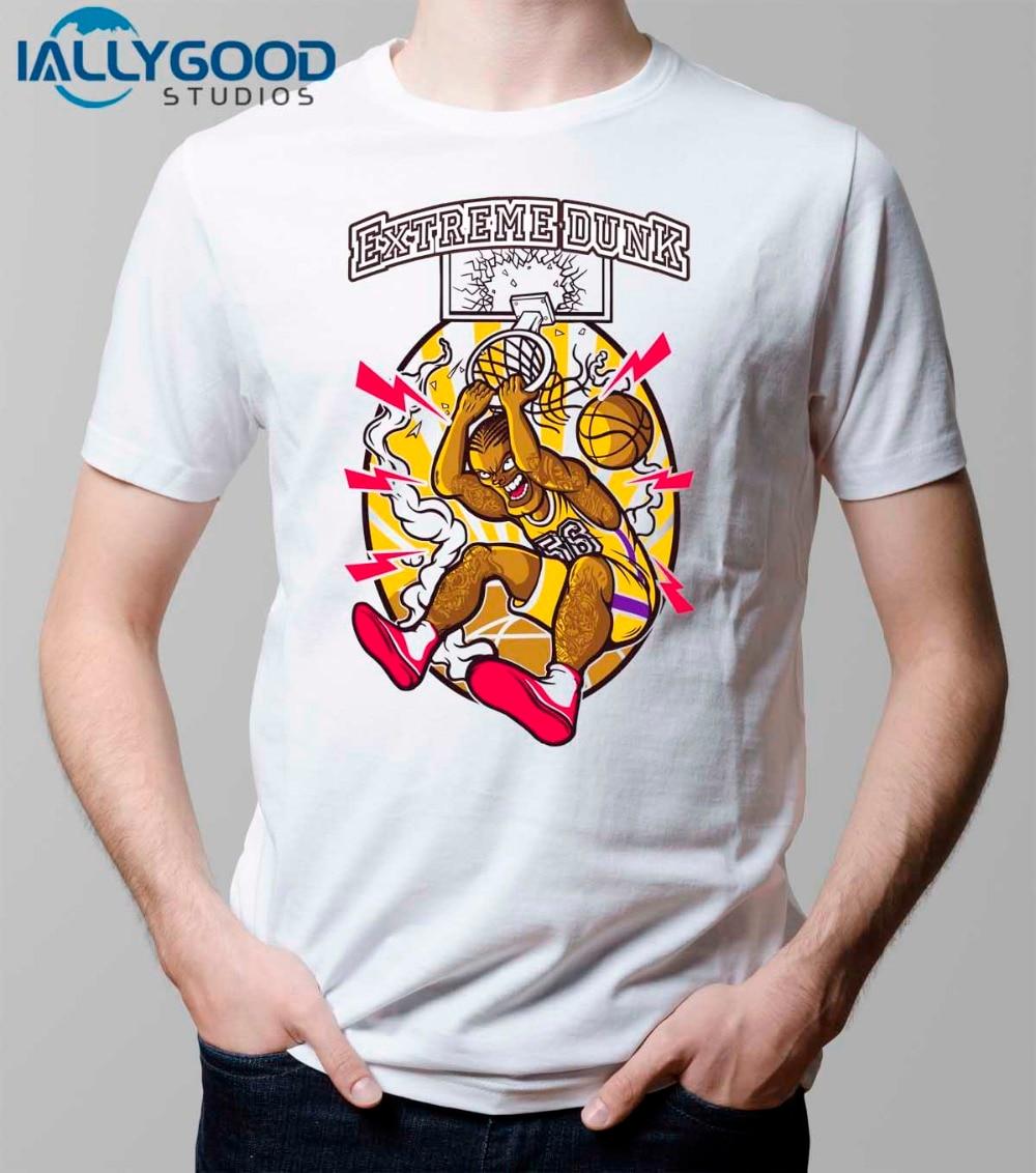 Shirt design games - Extreme Slam Dunk T Shirt Design Inspired By Ball Game T Shirt Cool Fashion Novelty Funny Tshirt Men Women Printed Tee