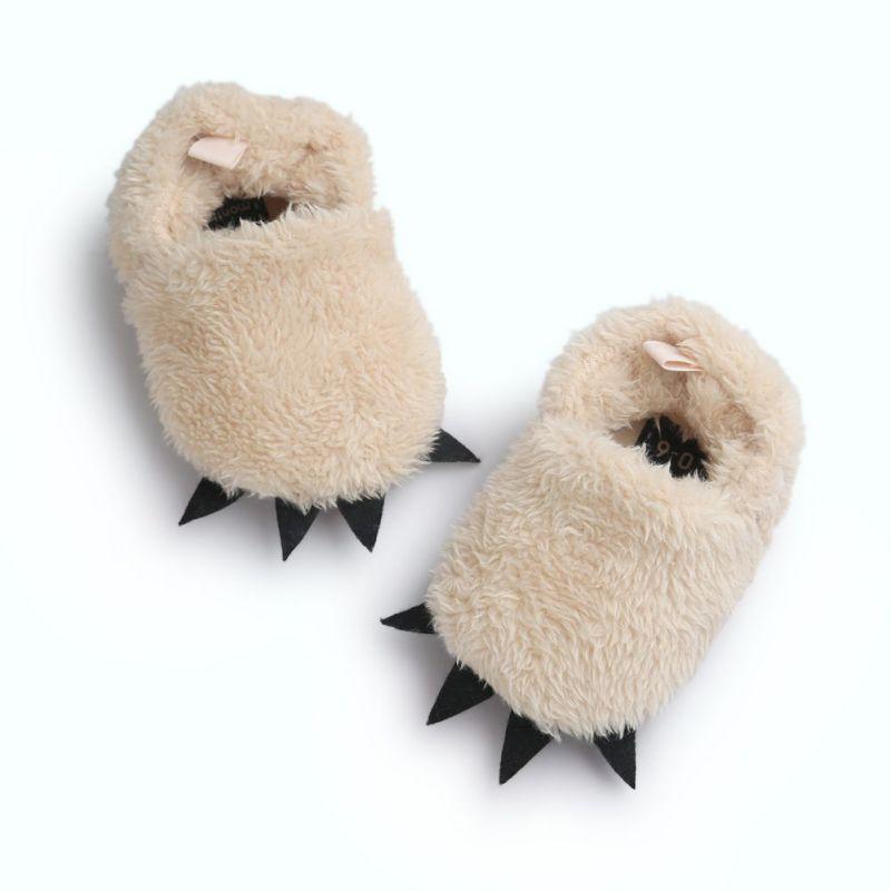 милые зимние сапоги теплые детские сапоги монстр коготь детские мокасины детские сапоги новорожденного домашняя обувь детские сапоги