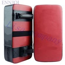 PU thick Boxing Gloves Pads free combat foot target board Taekwondo kick boxing target leg target
