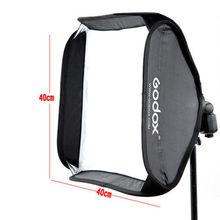 Godox Softbox 40*40 cm / 15″ * 15″ Diffuser Reflector for Speedlite Flash Light Professional Photo Sutdio 40×40 cm Soft box