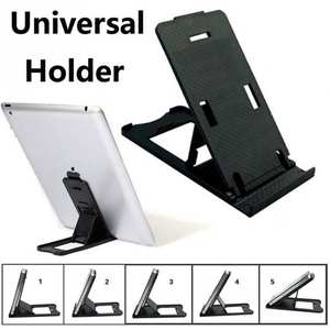 Plastic Mobile Phone Support For iPhone Tablet PC Holder Universal Folding Adjustable