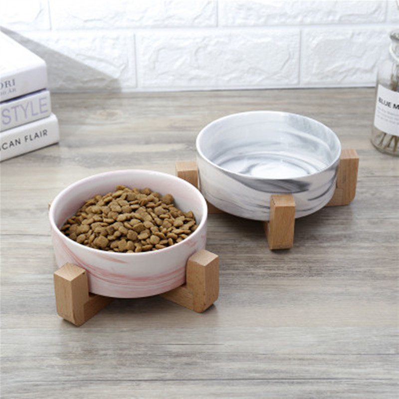 Dry Ceramic font b Pet b font Bowl Canister Food Water Treats for Dogs Cats More